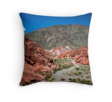 Purmamarca, Argentina Throw Pillow