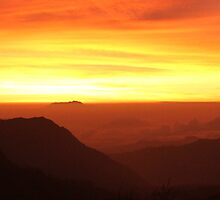 Mountain morning panorama by Antti Muranen