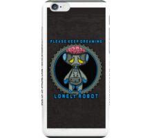 Lonely Robot: Proton Melancholy  iPhone Case/Skin