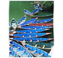Phewa Tal Rowboats Poster