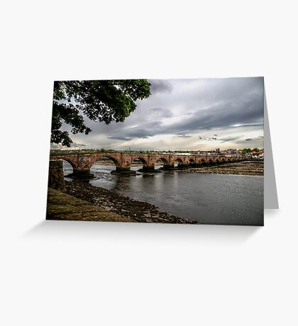 Berwick Bridge Greeting Card