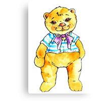 Little sweet bear Canvas Print