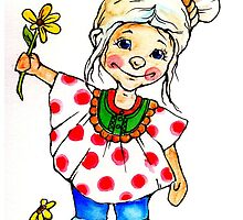 What about this little girl 1 by Renata Lombard
