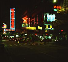 Neon Lights - Lomo by Yao Liang Chua