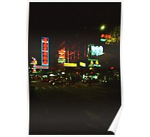 Neon Lights - Lomo Poster