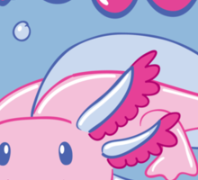 Axolotl - Replacement Parts Included! Sticker