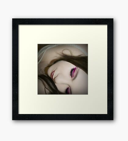 The morning I saw your face Framed Print