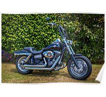 Fatbob Harley Poster