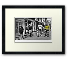 Meanwhile...in York Framed Print