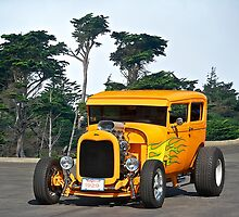 1929 Ford Hot Rod Sedan by DaveKoontz