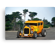 1929 Ford Hot Rod Sedan Canvas Print