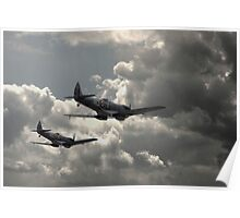Spitfire Wingman Poster