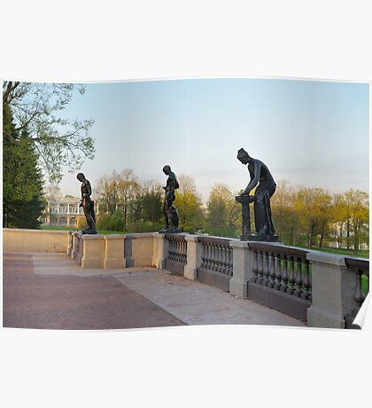 Sculpture of Catherine Park Poster
