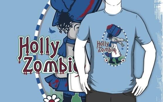 Holly Zombie by frauholle