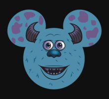 Mickey Mouse dressed as Sully from Monsters Inc.  by sweetsisters