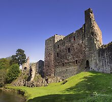 Hailes Castle, East Linton. Scotland by Miles Gray