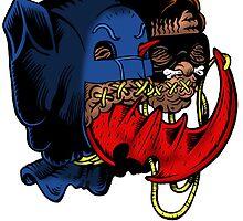Bat-Heads by ghostfreehood