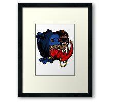 Bat-Heads Framed Print