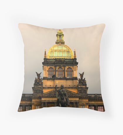Opera House, Prague Throw Pillow