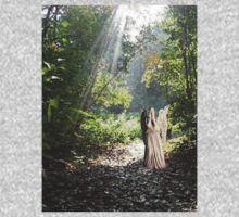 Weeping Angel in the Woods by Marjuned