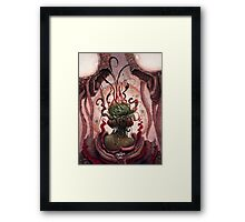 The Witch in the Water Framed Print
