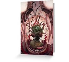 The Witch in the Water Greeting Card