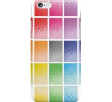 Wet heart - rainbow dash iPhone Case/Skin