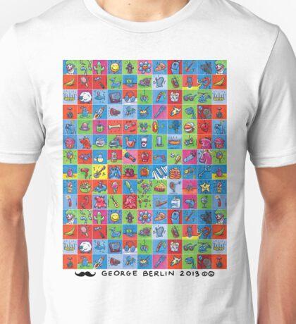 100 Tiny Paintings! Unisex T-Shirt