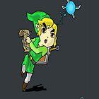 Legend of Zelda- Wind Waker by Cranemann