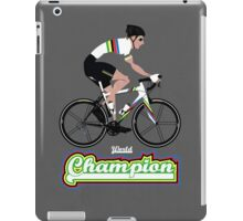 World Champion Cycling iPad Case/Skin