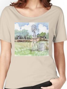 Windpomp in South Africa Women's Relaxed Fit T-Shirt