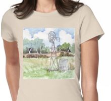 Windpomp in South Africa Womens Fitted T-Shirt