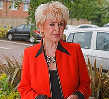 Gloria Hunniford by Keith Larby