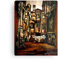 A Quiet City... Metal Print