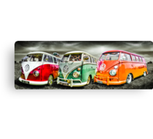 VW campervan's Canvas Print