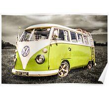 VW campervan Poster