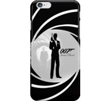 James Bond Secret Agent 007 Sky Fall iPhone Case/Skin