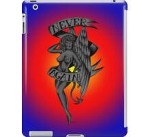 Never Again Tattoo Angel  iPad Case/Skin