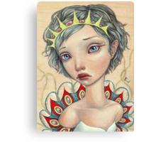 Sea Bride Canvas Print