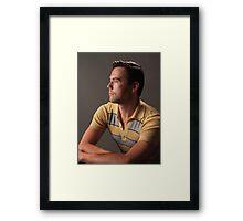 Portrait Chris Framed Print