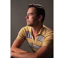 Portrait Chris Photographic Print