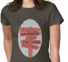 Crossroad Womens Fitted T-Shirt