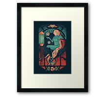 Aran Nouveau Framed Print