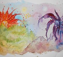 'The Flower Planet wars' by Katja K.