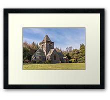 Building, Church, Southwick parish church, Dumfries & Galloway Framed Print