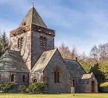 Building, Church, Southwick parish church, Dumfries & Galloway by Hugh McKean