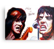 Mick and keith Metal Print