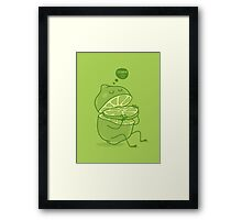 vitamin C Framed Print