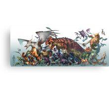Realistic Pokemon-Season 1 Metal Print