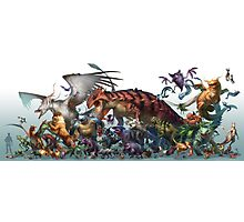 Realistic Pokemon-Season 1 Photographic Print
